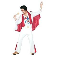 Elvis Deluxe Jumpsuit Adult Size Standard Costume