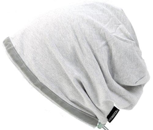 リフレクター付き ストレッチワッチ VN-02 MIXグレー 【帽子】【リフレクター】【ナイトジョギング】