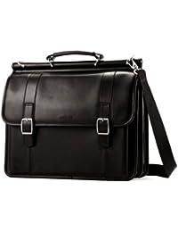 Samsonite Luggage Dowel Flapover Business Case, Black, One Size