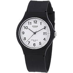CASIO MW-59-7BVEF - Reloj de mujer de cuarzo, correa de resina color negro
