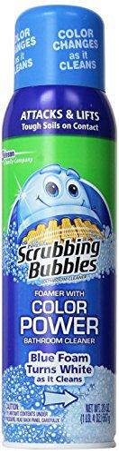 Scrubbing Bubbles Bathroom Cleaner Aerosol Color Change (Pack Of 2)
