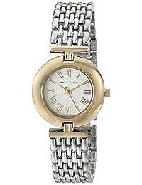 Anne Klein Women's AK/1945SVTT Two-Tone Watch With Adjustable Link Bracelet
