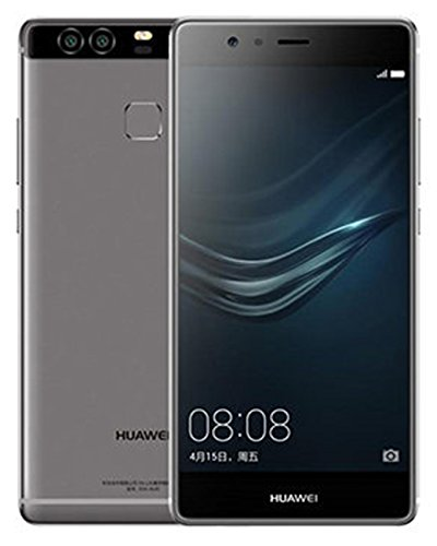 "Huawei P9 5.2"" 32GB ROM 3GB RAM Dual SIM Kirin 955 Octa Core Dual 12 MP Camera 4G LTE Smartphone (Titanium Grey) - International Version No Warranty"