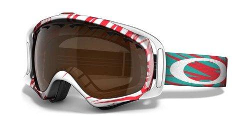 Oakley Crowbar Goggle Scratch Red W/Black Irid, One Size