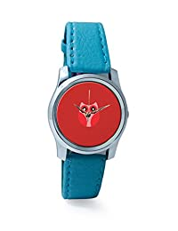 PosterGuy Red Cute Little Owl Bird Cartoon Analog Women's Wrist Watch-2238294536-RS2-S-TEA