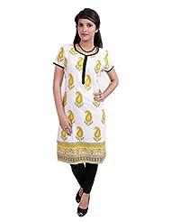 El Sandalo Cotton Printed Women Wear Kurti - B013WH29MY