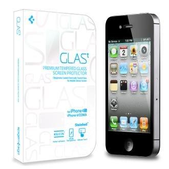 SPIGEN+SGP+iPhone4%2F4S+シュタインハイル+GLAS.t+リアル+スクリーン+プロテクター