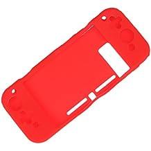Segolike Anti-Slip Soft Silicone Case Silicone Cover Skin For Nintendo Switch Red