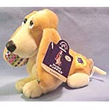 Applause Hush Puppies Collection 3 Lemon Meringue Plush Puppy Beanbag Beanie Toy 24630