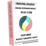 Himachel Pradesh Higher Secondary Plus 2 (Class XII) Combo Pack - Physics, Chemistry And Maths Full Syllabus Teaching Video (DVD)