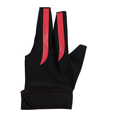 Segolike Stretchy Fingertip Open Breathable Sport Billiards Glove Left Hand For Snooker Pool Cue Shooter Sticks...