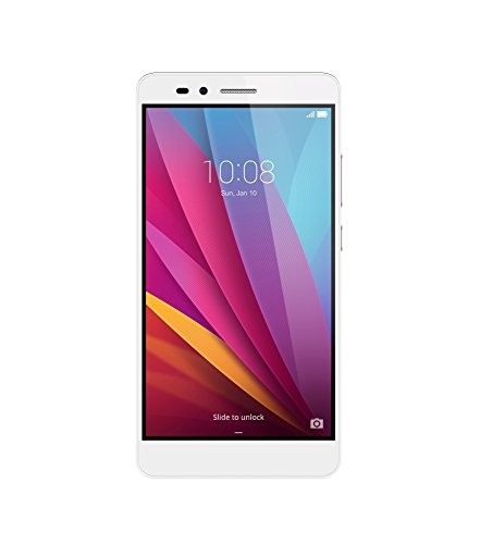 Honor 5X unlocked smartphone, 16GB Daybreak Silver (US Warranty)