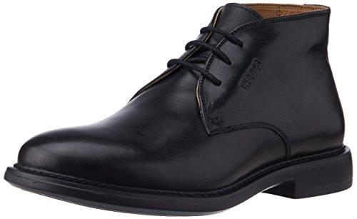 Woods Men's Black Leather Boot - 11 UK - B013U3U82S