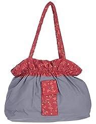 Bhagidhari Handloom Cotton 5 L Beach Tote Bag (SUSY-1)
