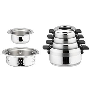 Für die Küche: Berndes Topfset Le Miracel (6 teilig) für 66,52 € inkl. VSK!