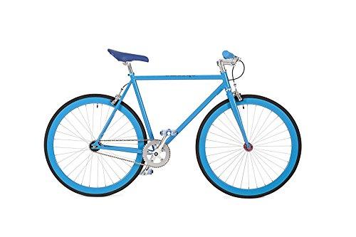 BLUE FIXIE CHROMA BIKES