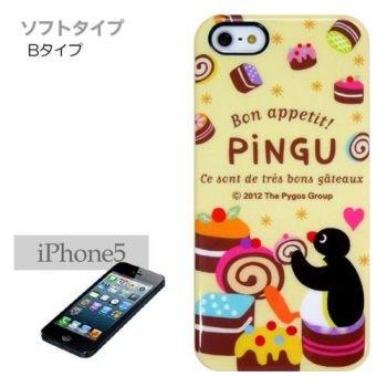 ピングー/Pingu iPhone5ケース スイーツ/ソフトタイプ