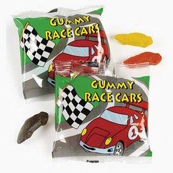 Gummy Race Cars