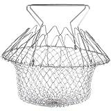 Everbuy Chef Basket Cooker Strainer 12 In 1 Kitchen Tool Cooks Net - Flexible Kitchen Helper Kitchen Tool