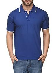 Scott Young Men's Premium Cotton Polo T-shirt - Royal Blue