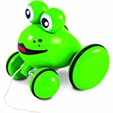 Vilac Push And Pull Baby Toy, Youpla The Frog