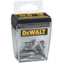 DEWALT DW2002X10 #2 Phillips 1-Inch Bit Tips With Bit Box (10-Pack)