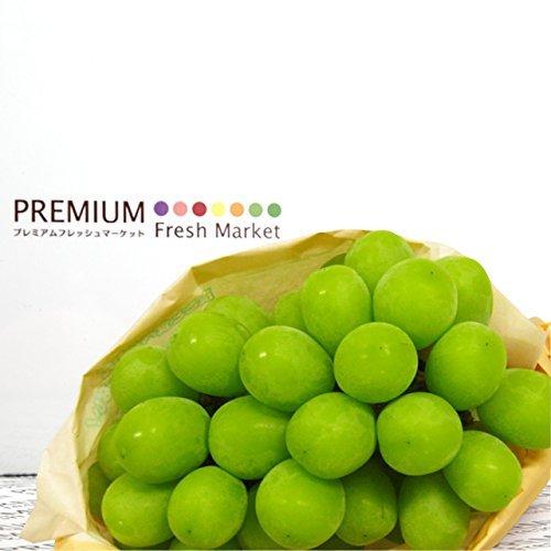 PREMIUM Fresh Market 長野・山梨産シャインマスカット プレミアムBOX 2房 約1.2kg のし無し