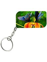 Beautiful Butterflies | ShopTwiz WOODEN Key Ring