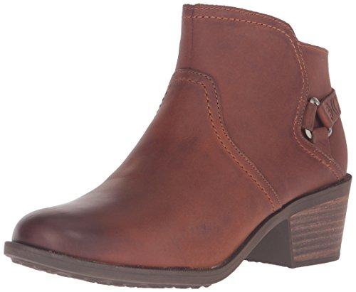 Teva Women's W Foxy Leather Boot, Cognac, 8.5 M US