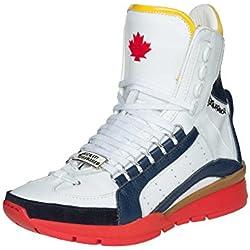DSQUARED² Uomini High TopSneakers vera pelle