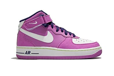 Nike Air Force 1 Mid Girls (GS) Basketball Shoes 518218-500