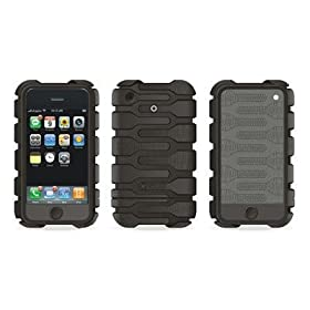 Speck Products Tough Skin Rubberized iPhone 3G Case (Black)