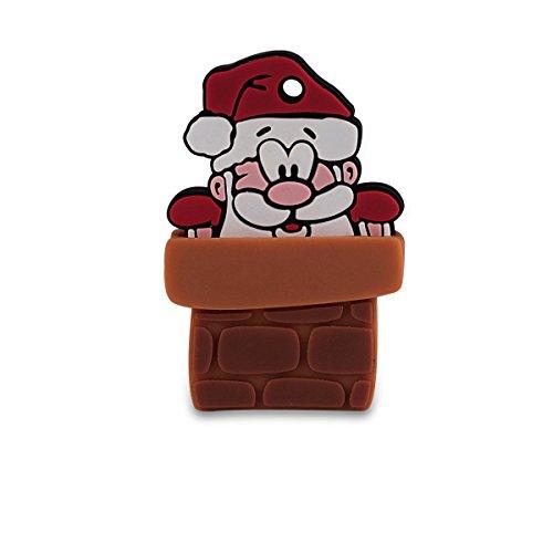 EC Technology USBフラッシュメモリ 8GB クリスマス サンタさん