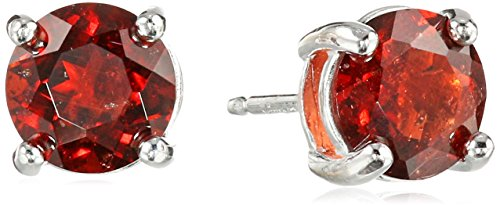 Top 10 garnet stud earrings sterling silver