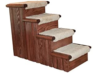 Amazon.com : Premier Pet Steps Tall Raised Panel Dog Steps