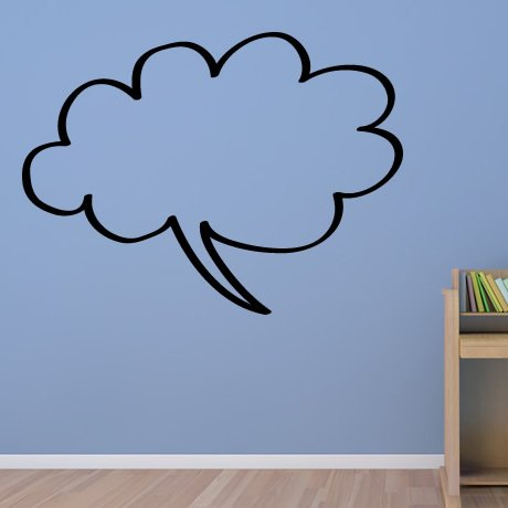 Speech Bubble Wall Decals