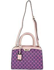 Bee - Trendy Women's Handbag Pink And Purple - BT004