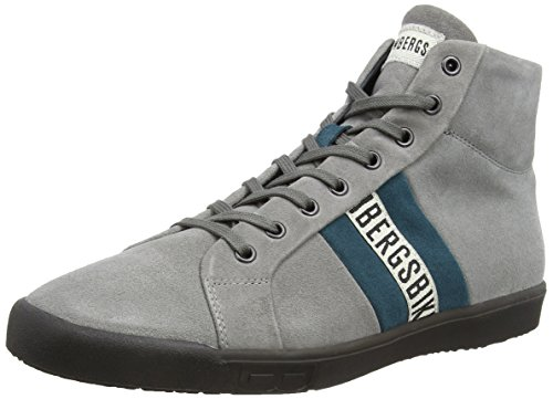 Bikkembergs Campus 736 M. Shoe M - Zapatillas para hombre, grey/air force blue, talla 42