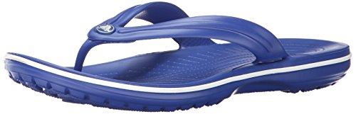 crocs Crocband - Chanclas unisex, color azul (cerulean blue), talla 36/37