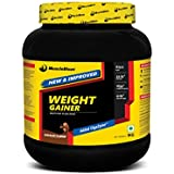 MuscleBlaze Weight Gainer With Added Digezyme, 1 Kg / 2.2 Lb Chocolate