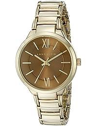 Anne Klein Women's AK/2284BNGB Gold-Tone Bracelet Watch