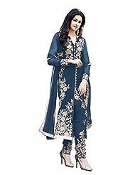 Mantra Fashion New Havy Look Navy Blue Colour A-line Salwar Suit