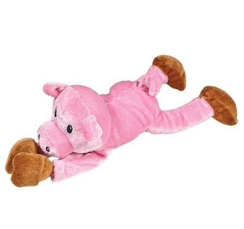 Plush Sling Shot Pig With Sound, Case Of 12