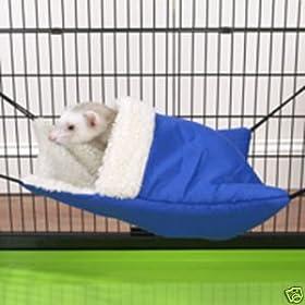 Biddie Buddies Ferret Snuggle Sack Blue
