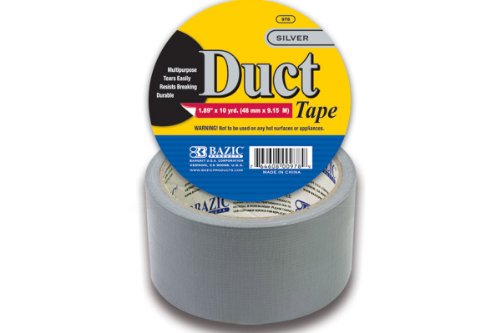 Silver Duct Tape - 1.89 Inch X 10 Yards
