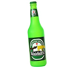 Amazon.com : Silly Squeakers Beer Bottle Dog Toy, Heinie