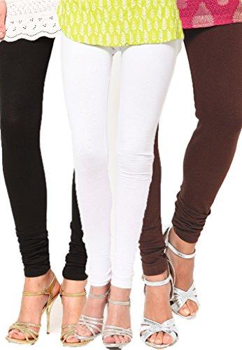 Castle Women's Leggings (Pack Of 3) (Multi_Free Size) - B00RBN4M8U