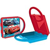 DISNEY CARS SANDWICH LUNCH BOX WITH HANDLE, MULTI COLOR