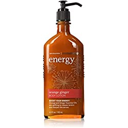 Bath and Body Works Aromatherapy Orange Ginger Gift Set Includes Orange Ginger Energy Body Lotion and Body Wash