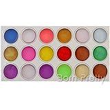 18 Candy Colors Acrylic Powder Builder Nail Art Decoration # 7607